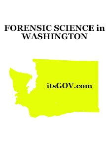 washingston forensic science degree